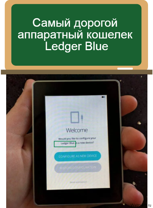Ledger Blue