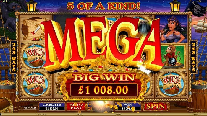 mega big win